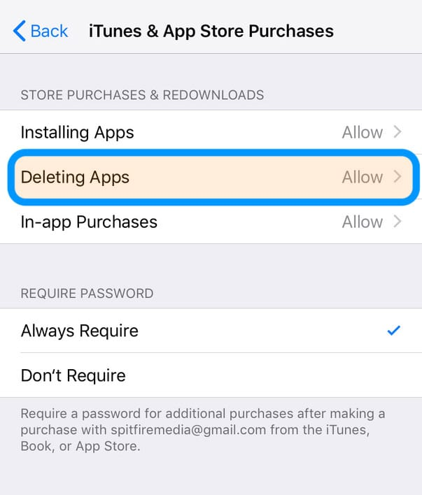 Unable to delete/remove apps from my iPhone, iPad or iPod
