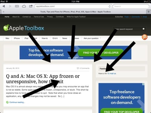 pinch to the home screen iPad