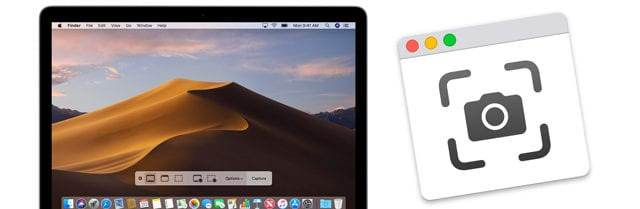 macOS Mojave Screenshot App Replaces Grab Utility