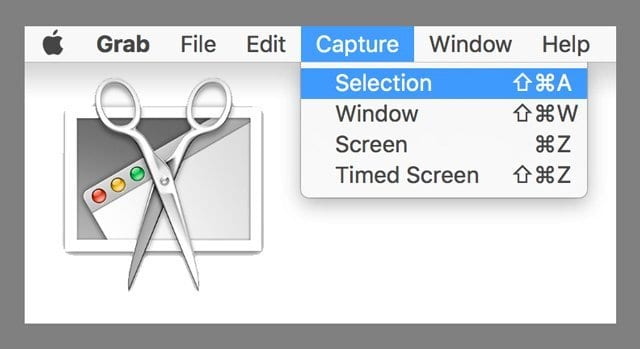 How To Use macOS & Mac OS X Grab Utility To Take Screenshots