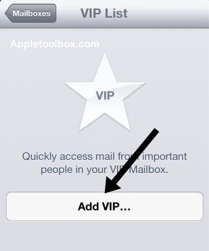 vip list add iOS