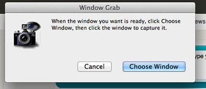 How to use Mac OS X Grab Utility to take screenshots