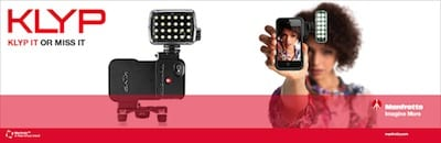 KLYP is the first iPhone case designed specifically by Manfrotto