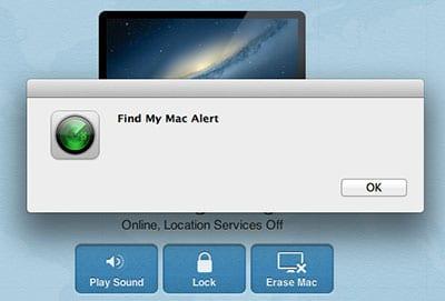 find my mac iCloud