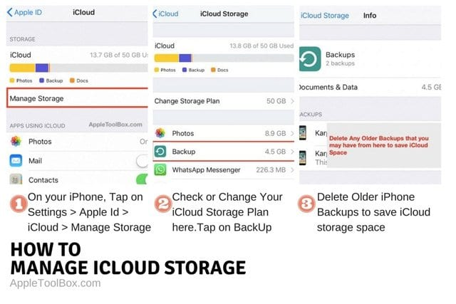 How To Delete iCloud Backups