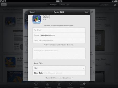 App Store Gift
