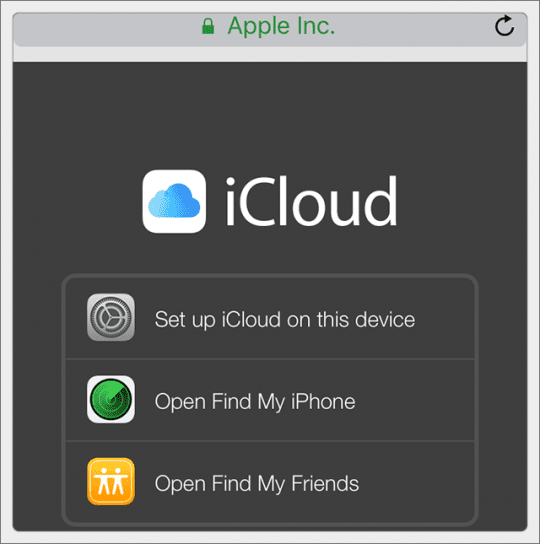 find my iphone login how to login to icloud on iphone or q amp a 1089