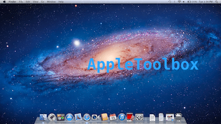 clean mac desktop