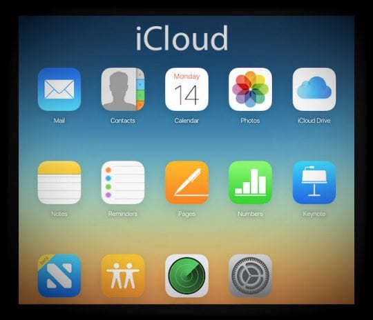 Login and sign-in to iCloud.com from iPhone