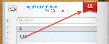icloud group contacts