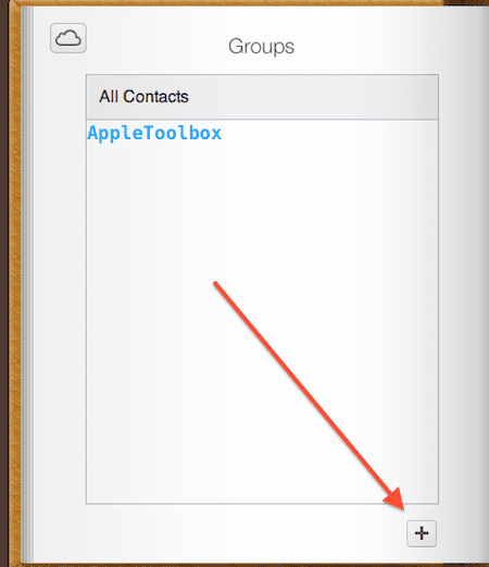 icloud add groups