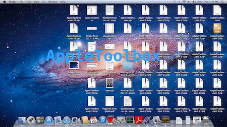 dirty desktop mac