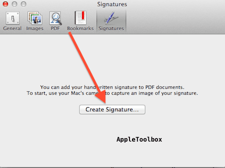add a signature to a pdf