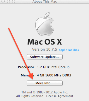 About this mac more info