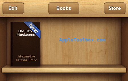 epub in ibooks