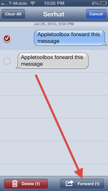 forward a text on iphone how to forward imessages and text messages on iphone 16951
