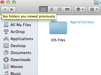 iOS system files backup