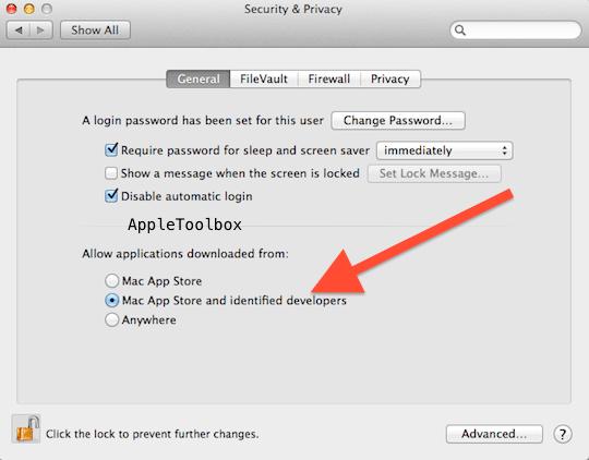 Mac OS X gatekeeper