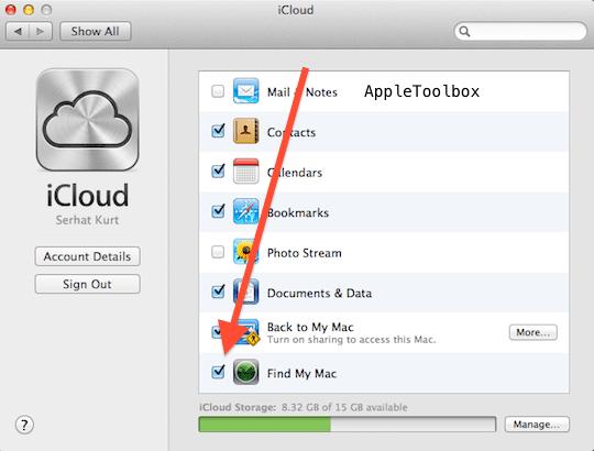 Mac iCLoud