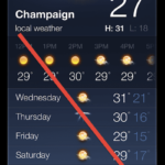 Siri: Change Weather Temperature from Fahrenheit to Celsius