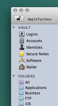 1password folders