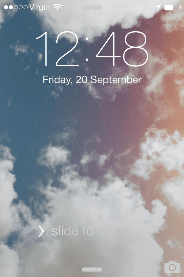 Bold text iOS 7