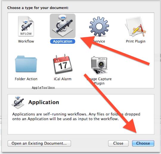 Automator application