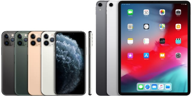 iPhone 11 Pro and iPad Pro 12.9-inch