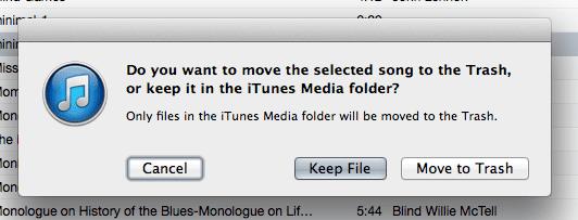 iTunes save
