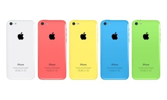 iPhone 5 C Colors