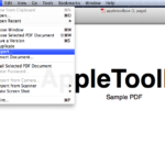 Mac OS X: How to reduce PDF file sizes