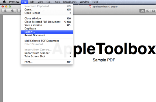 what size should i save a pdf file