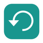 Apple iOS backup icon