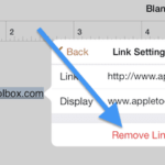 How to remove hyperlinks from Pages documents