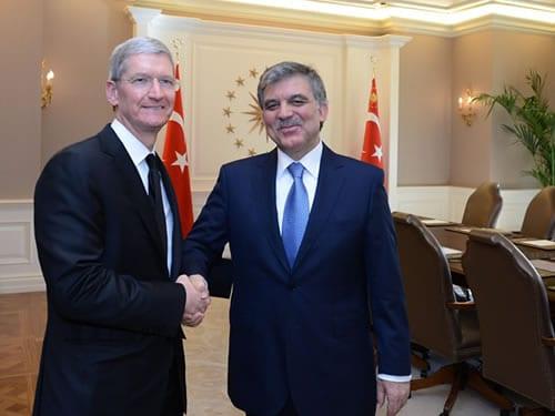 Tim Cook in Turkey