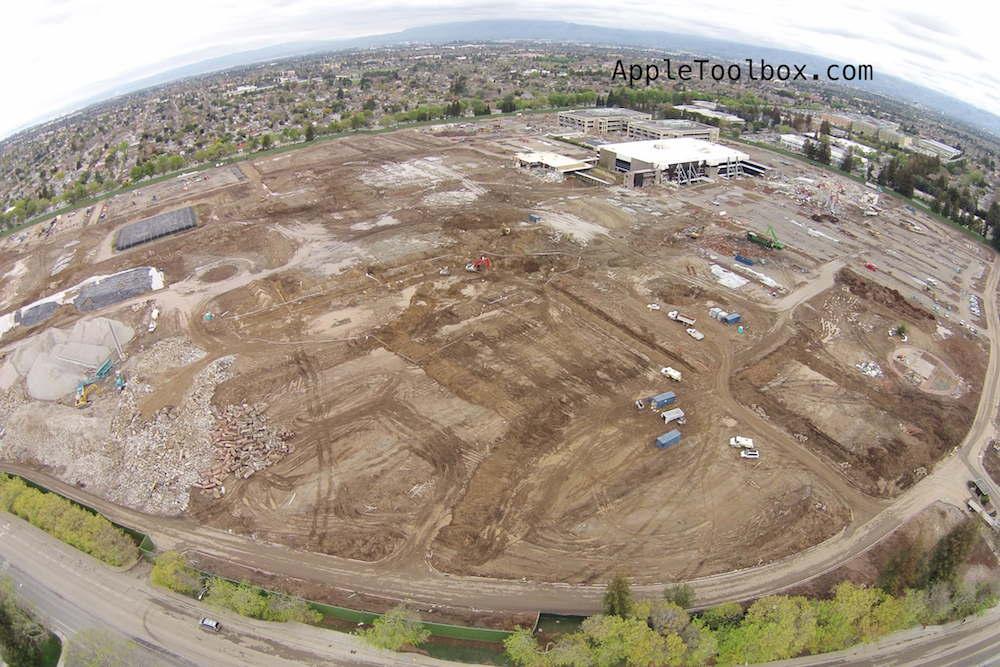 Apple's Campus 2: Aerial photos - AppleToolBox