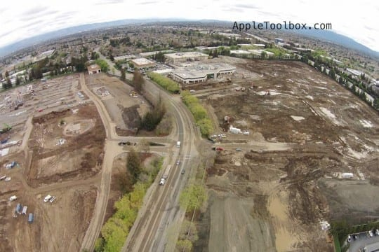Apple Campus 2 constructions