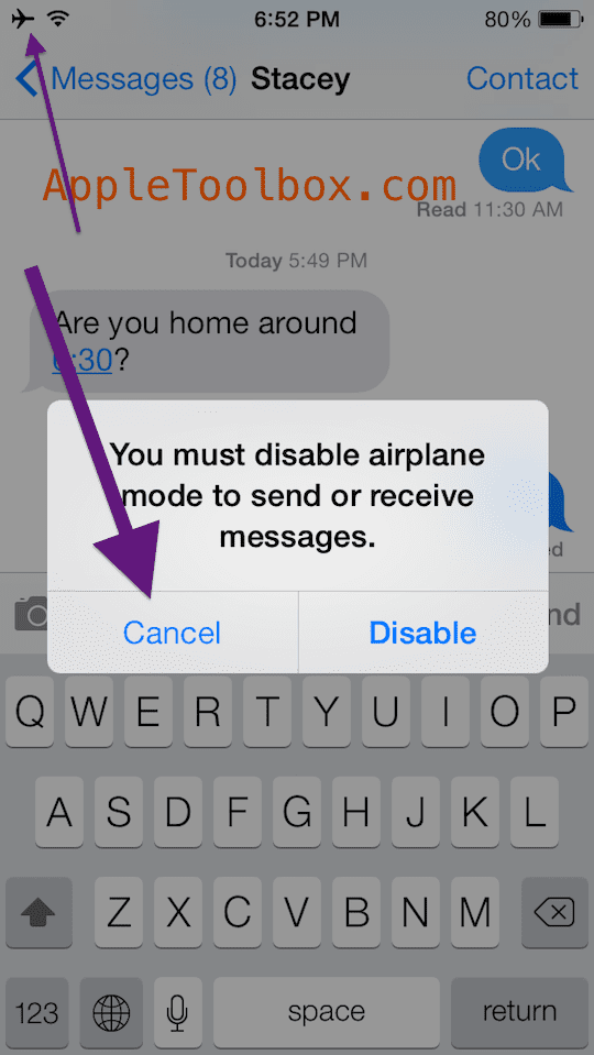 iphone airplane mode text messages how to send receive imessages in airplane mode 17613