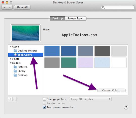 custom color solid color background desktop