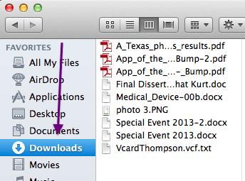 delete downloads