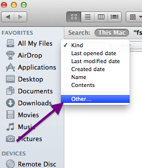 finder file kind other