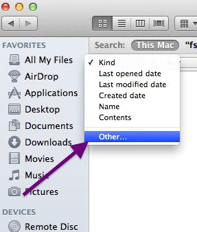 finder file kind other