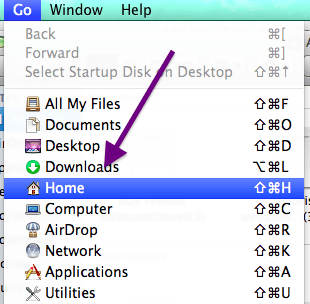 Finder Go Home
