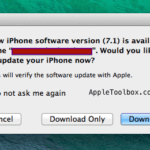 Apple releases iOS 7.1; how to update