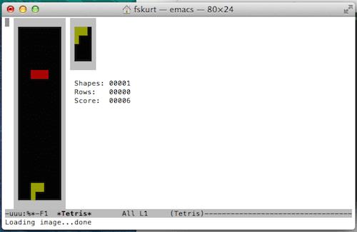 Tetris Terminal Mac
