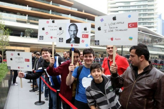 Apple Istanbul Signs