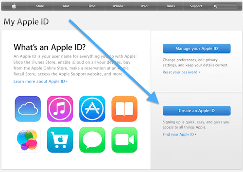 get Apple ID
