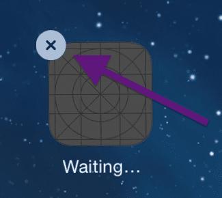 remove app tap