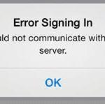 """iOS Facebook: """"Error Signing In"""", fix"""
