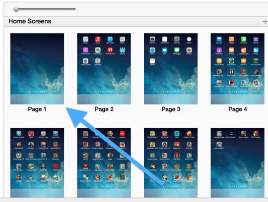 iTunes blank screen
